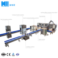 Automatic 20L Barreled Pure Water Complete Production Filling Line