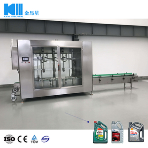 Automatic Lube/ Lubricating/ Lubricant Oil Filling and Packing Machine for HDPE Bottles