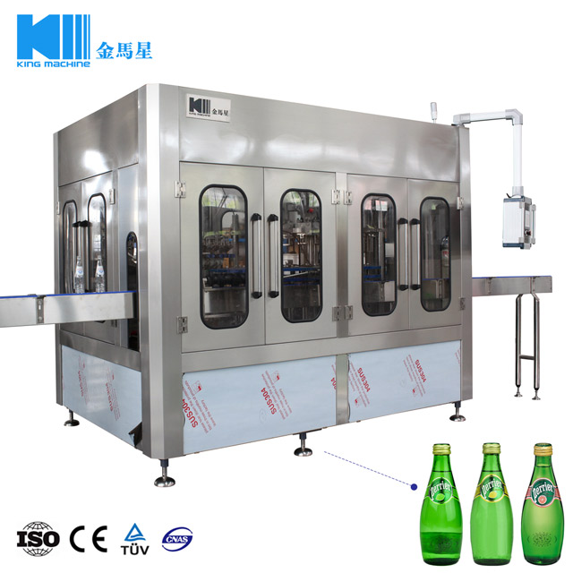 Automatic Soda Carbonated Soft Drinks Bottling Machine