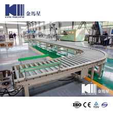 Roller conveyor for 100L barrel