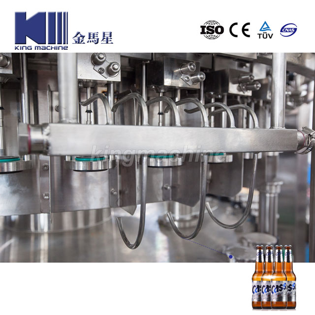 10,000bph Automatic Glass Bottle Beer Drink Bottling Washing Filling Sealing Capping Machine