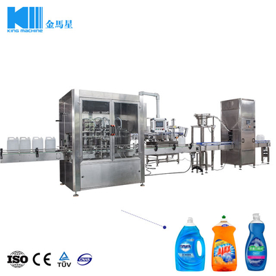 Hair Soap, Dishwashing Soap, Floorwashing Soap Filling Machine for 28-90oz Bottle
