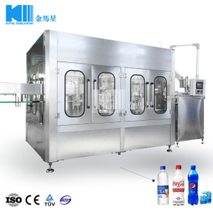 7000BPH Carbonated Drink 3-in-1 Filling Machine